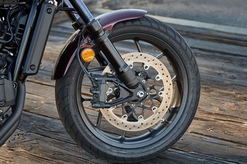 2021 Honda Rebel 1100 wheel brake