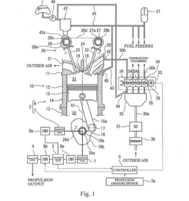 Kawasaki Patents Supercharged Two-Stroke Inline-Four