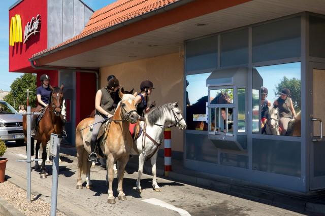 Horse-drive