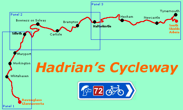 Hadrians cycleway