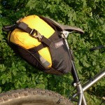 Tiger seat bag with dry bag
