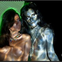Body Light Painting 2