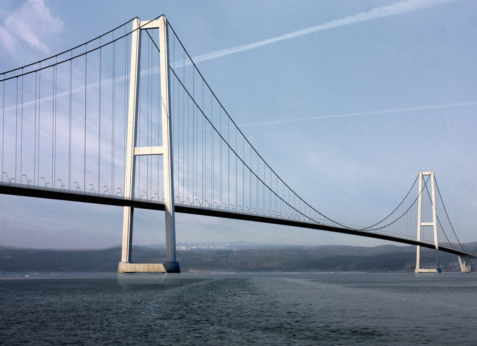 Turkey's Izmit Bay Bridge