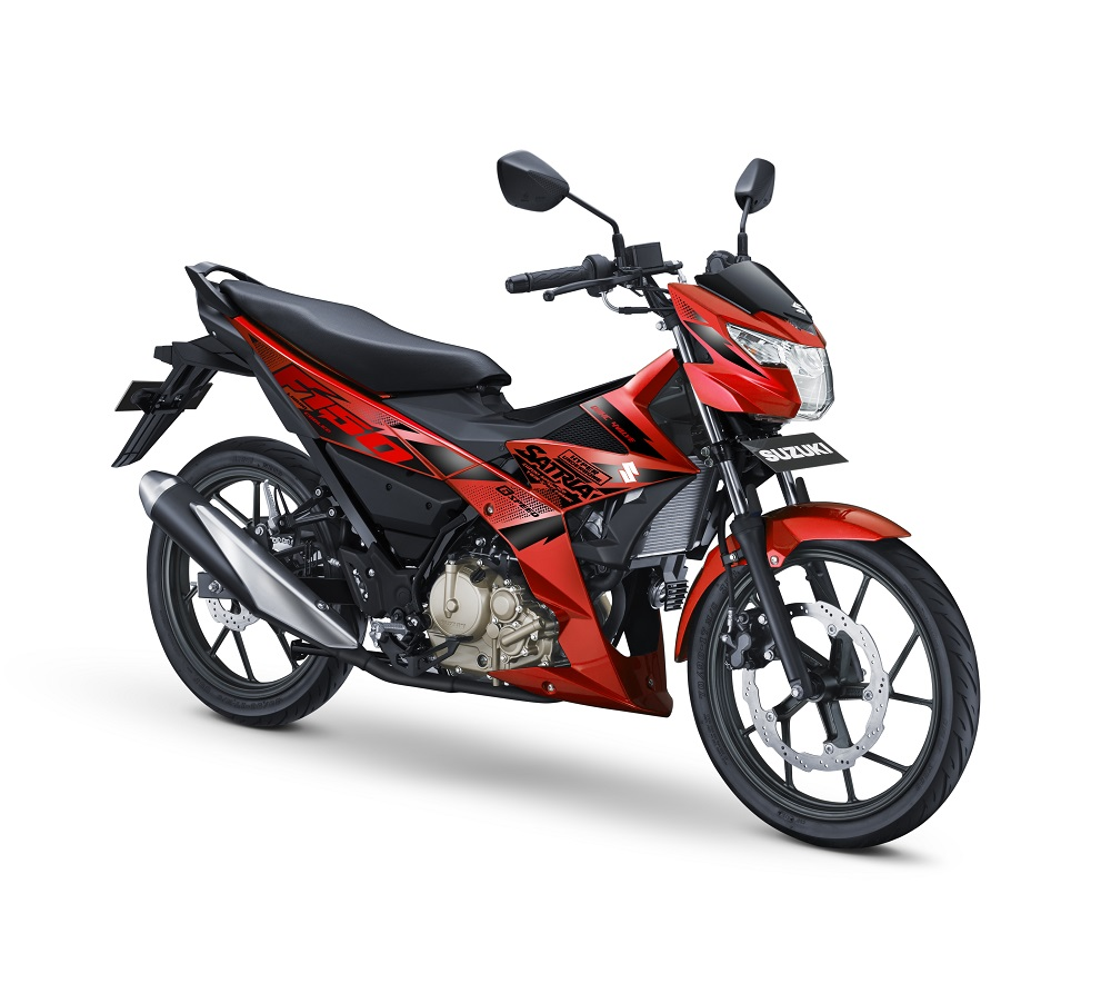 All New Satria F150 - 2017 - Stronger Red