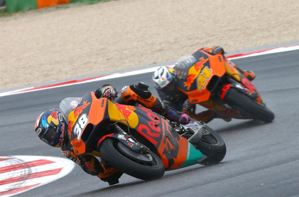 Bradley Smith & Pol Espargaro KTM RC16 Misano World Circuit 2017