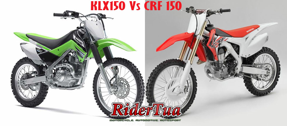 KLX150 Vs CRF150