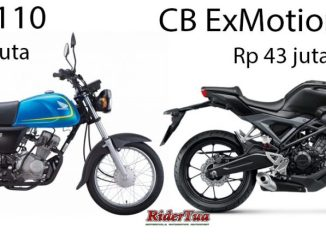 Honda Ace Vs CB Exmotion