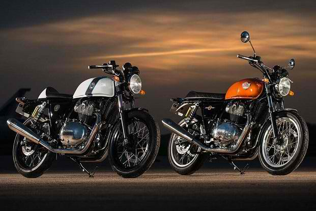 royal enfield interceptor INK 650 dan continental GT 650 EICMA 2017 milan italia