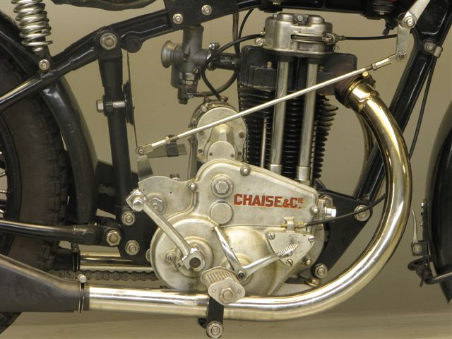 Chaise 1 cyl OHV 500 cc engine 1930