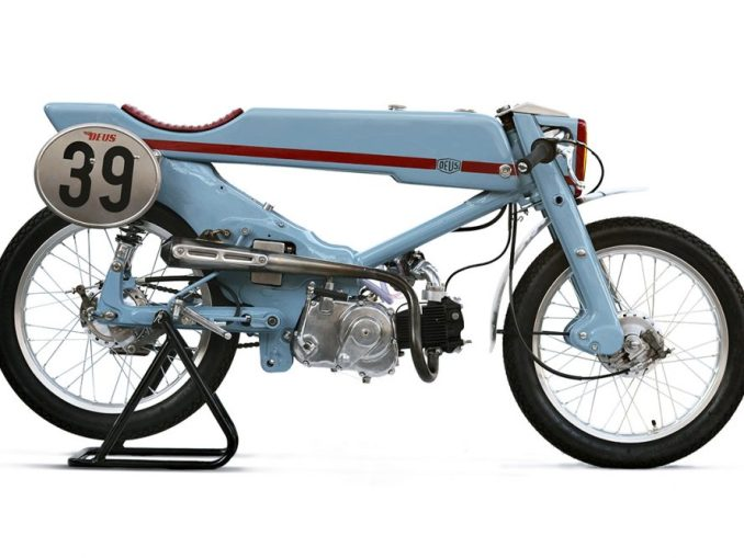 Hot Rods HONDA SUPER CUB 1961 deus