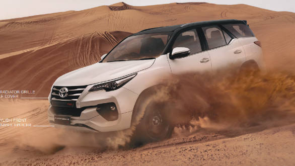 Toyota Fortuner TRD Limited Edition
