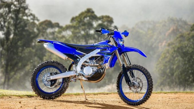 2021 New Yamaha WR250F