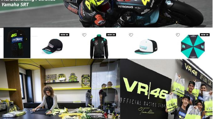 Group VR46 Mengelola Merchandising Tim Petronas