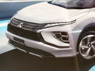 Tampang baru Eclipse Cross