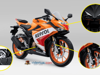 Sangar! CBR150R 2021 Mirip CBR250RR, Upside Down dan Assist Slipper Clutch