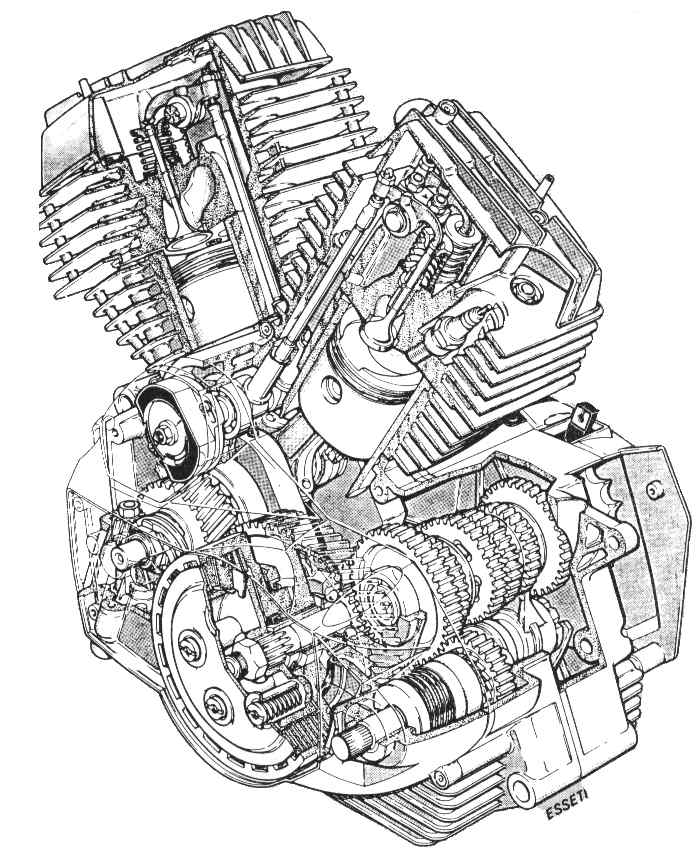 simple exploded view diagram atwood hydro flame furnace parts v-twin vs paralel twin engine...!!! - ridertua.com