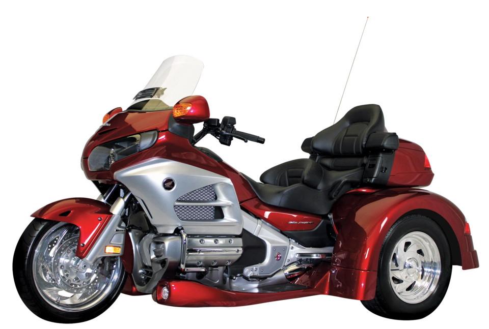 Honda Gold Wing trike roda tiga lebih gaya