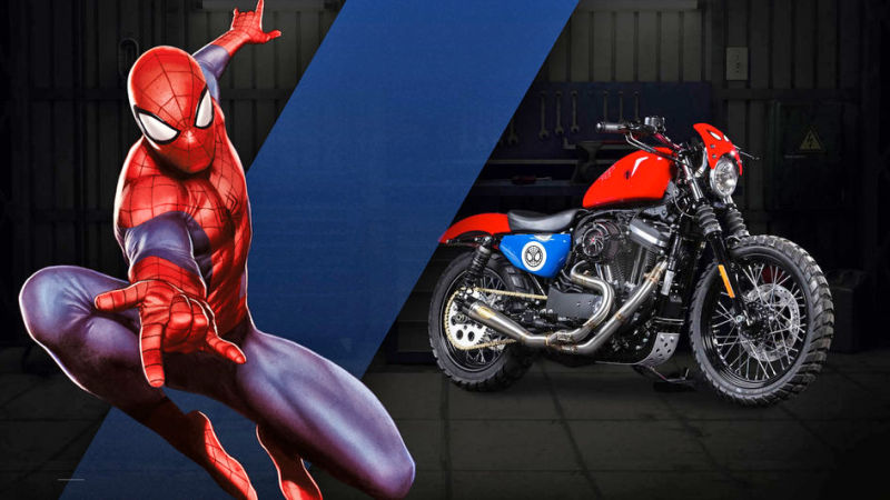 Spider-Man Iron 883™ Agility