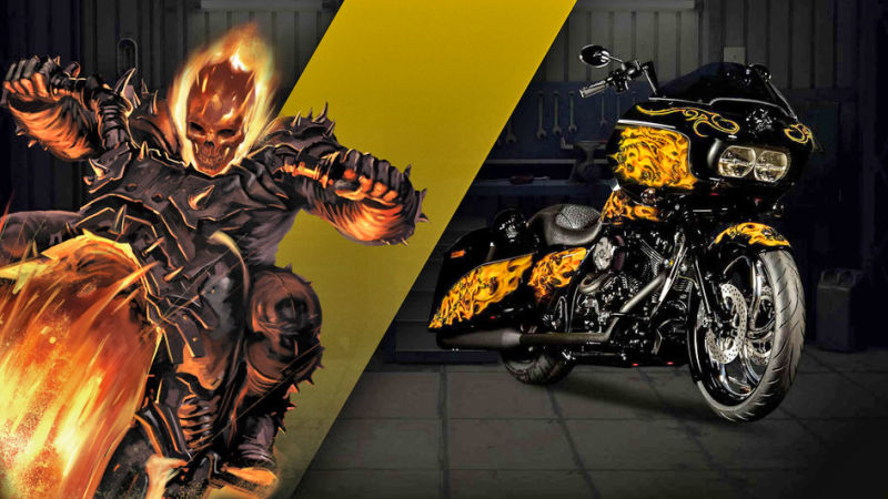 Ghost Rider Road Glide® Special Transformative