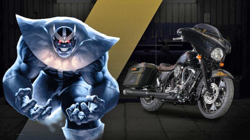 Thanos Street Glide® Special Voracious