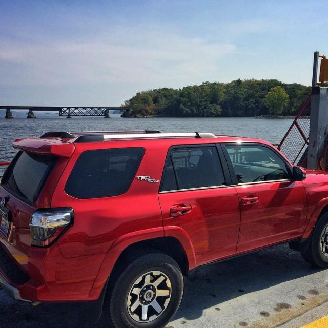 Crossing the river in the 2017 Toyota 4Runner TRD Offhellip