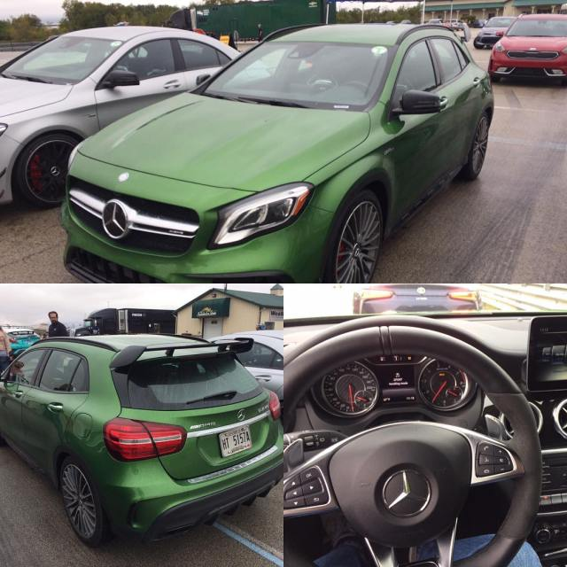 Are you green with envy yet? The MercedesAMG GLA 45hellip