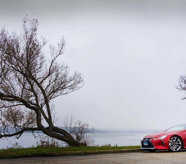 Gloomy and moody and awesome The Lexus LC 500 brightenshellip