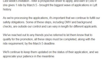 Update on Lyft Referral bonus - Gmail 2015-03-04