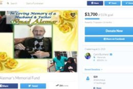 Support for family of 9. Taxi driver shot & killed.