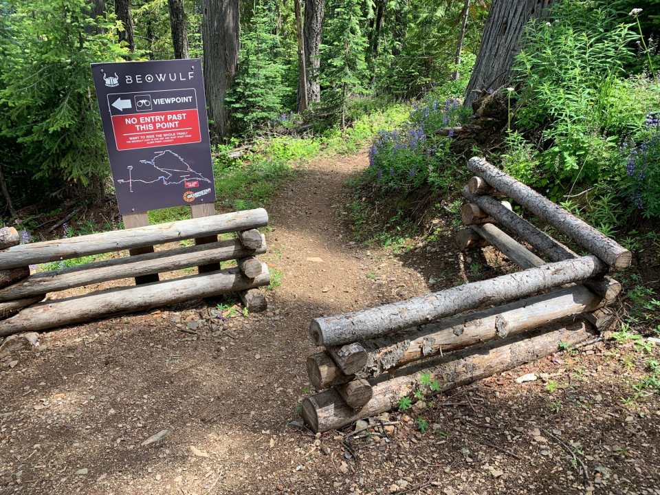Beowulf trail sign
