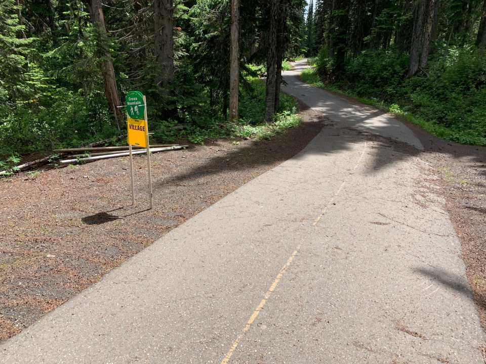 The Cross Mountain Trail is part of the Beowulf Loop at SilverStar Mountain Resort