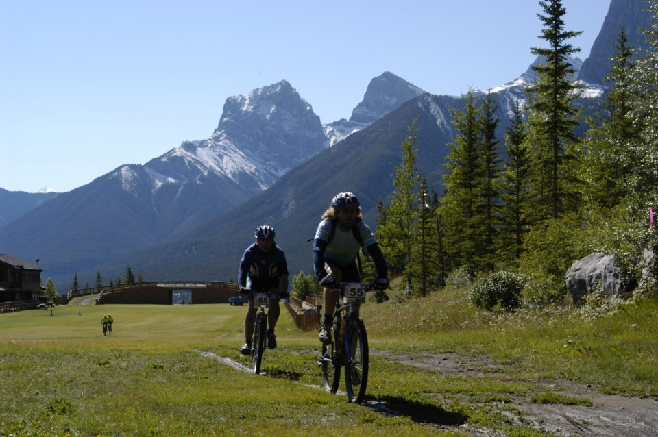 Great views were on display during the first Transrockies Challenge stage race in 2002