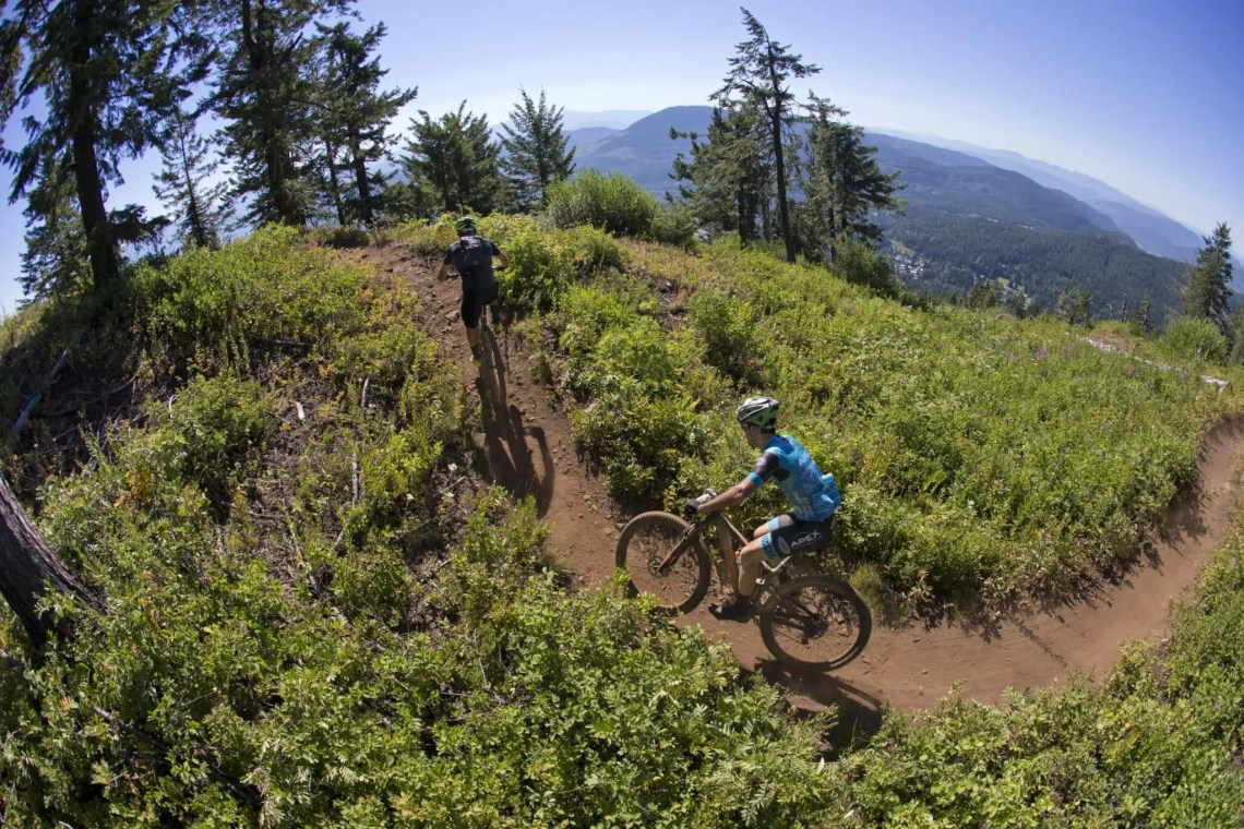 Great views are on display during the Singletrack 6 mountain bike stage race