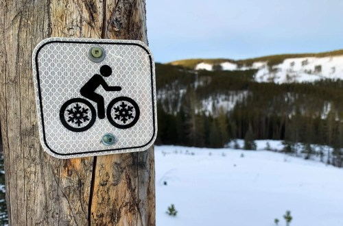 following basic winter fat bike etiquette is straight forward and keeps trails in great shape