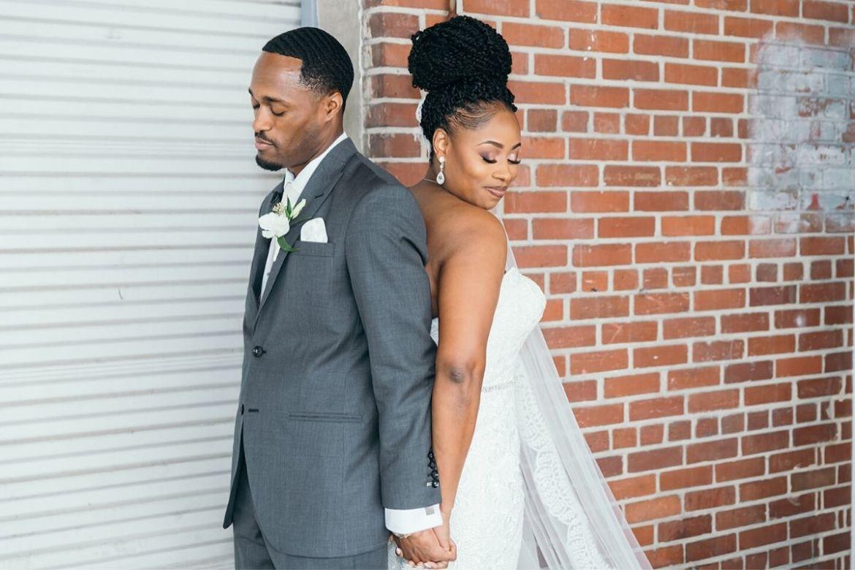 Orlando Wedding First Touch
