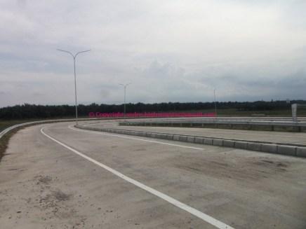 Sisi melingkar interchange