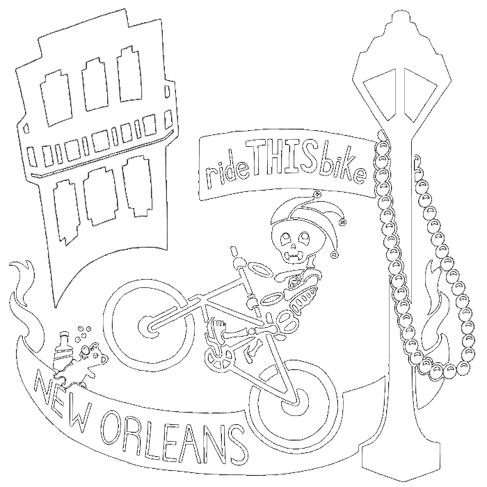 RideTHISbike Bicycle New Orleans