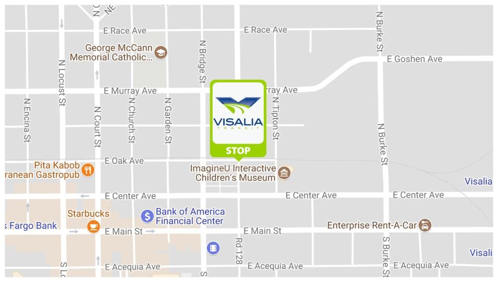 medium resolution of visalia transit center