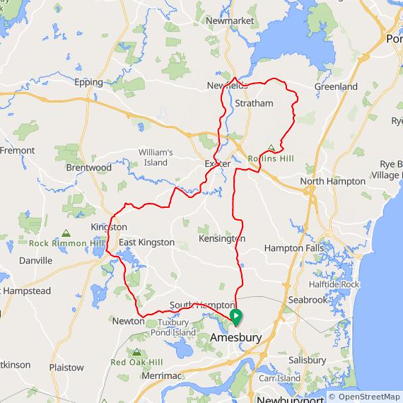 NSC North to Great Bay, Amesbury – Bike New England