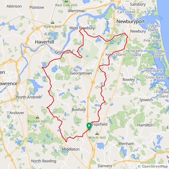 NSC Saturday ride, Boxford – Bike New England
