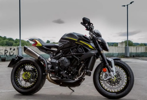 MV Agusta Dragster review