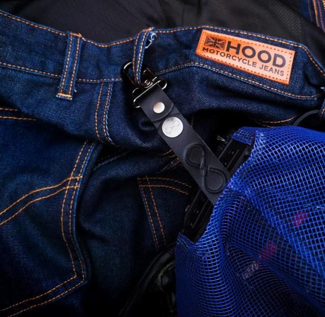 Hood armoured jeans