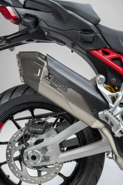 Multistrada exhaust