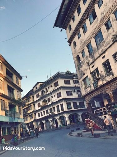 Street of Phuentsholing.
