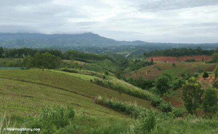 Views of Route 12 - Phitsanulok to Lomsak