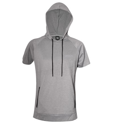 short sleeve hoodie for training