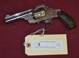 Smith & Wesson 38 Cal DA 5 Shot Revolver
