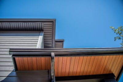 James Hardie Siding - Night Gray - West Hillhurst