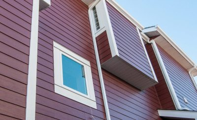 James Hardie Siding - Elegant Red Hardie (previously called Countrylane Red) - Edgebrook