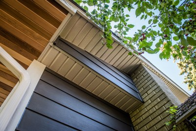 James Hardie Siding - Brown Blaze Hardie (previously called Rich Espresso) - Kelvin Grove